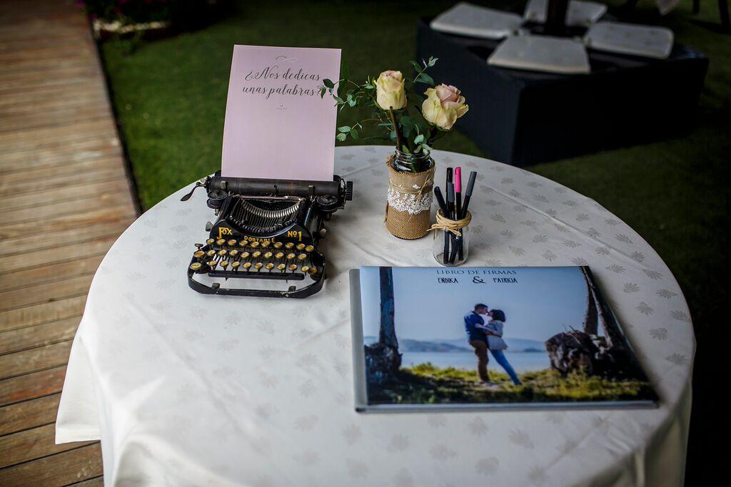 boda aramendi, zamudio, libro de firmas