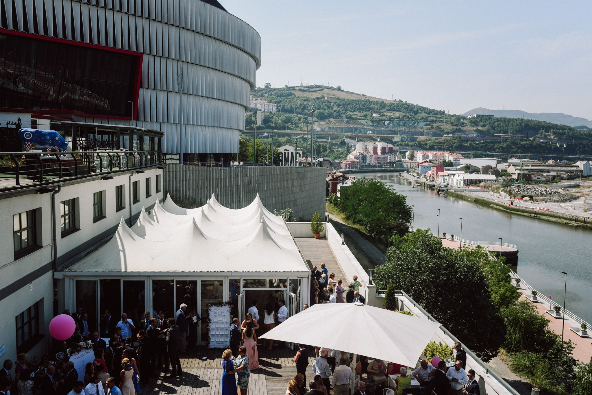 boda hotel Hesperia Zubialde Bilbao