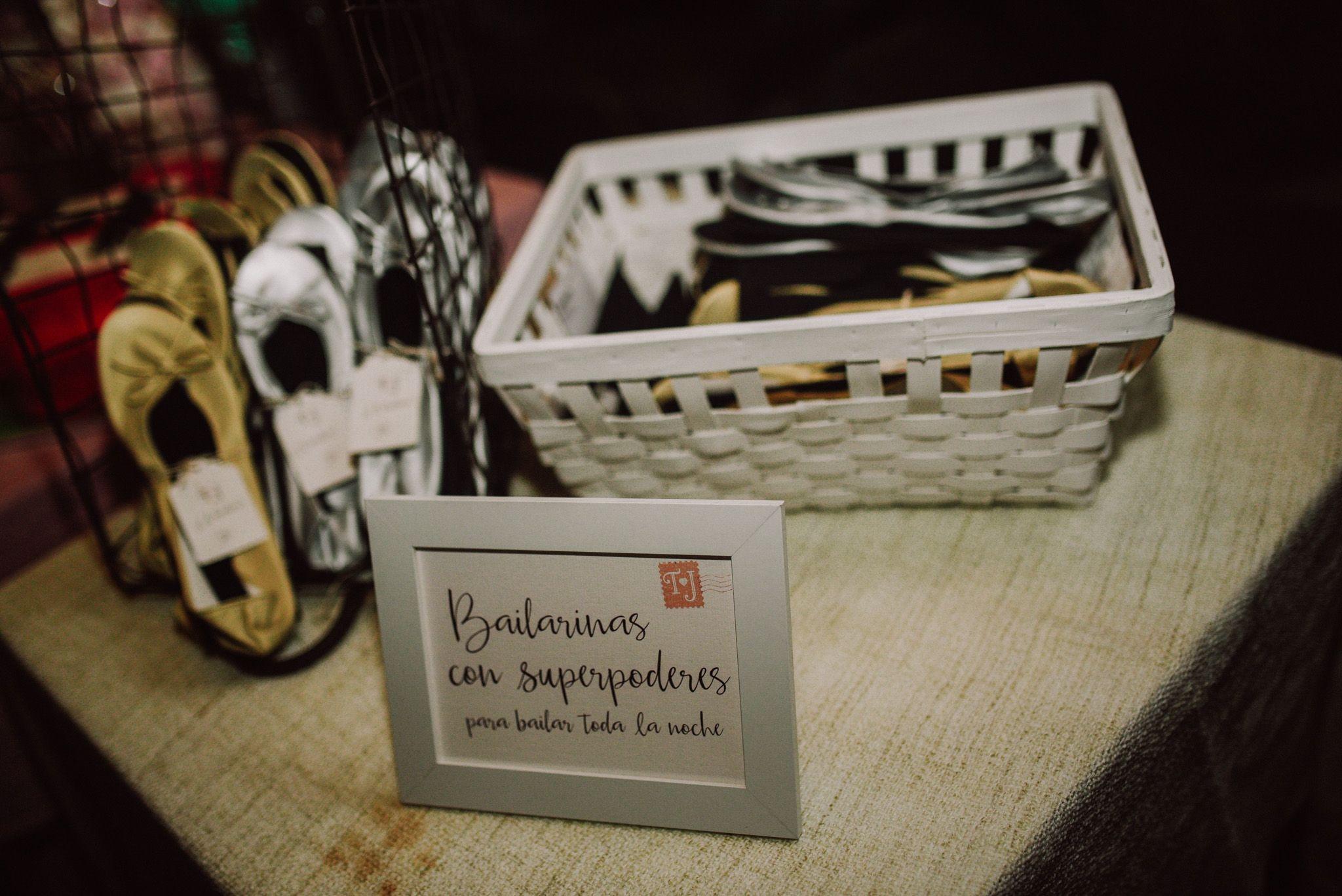 Bailarinas regalo Boda Bilbao Conmemöra Wedding Planner