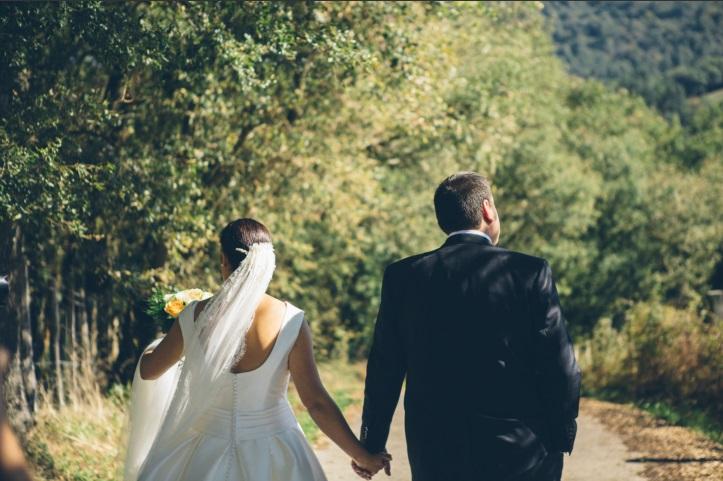 Boda de I&I, en Arcos de Quejana organizada por Conmemora wedding planner