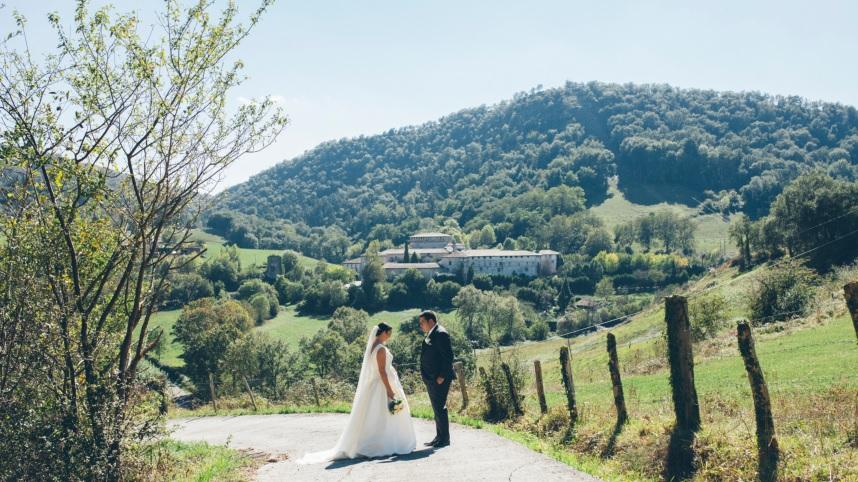 boda en quejana organizada por Conmemora wedding planner