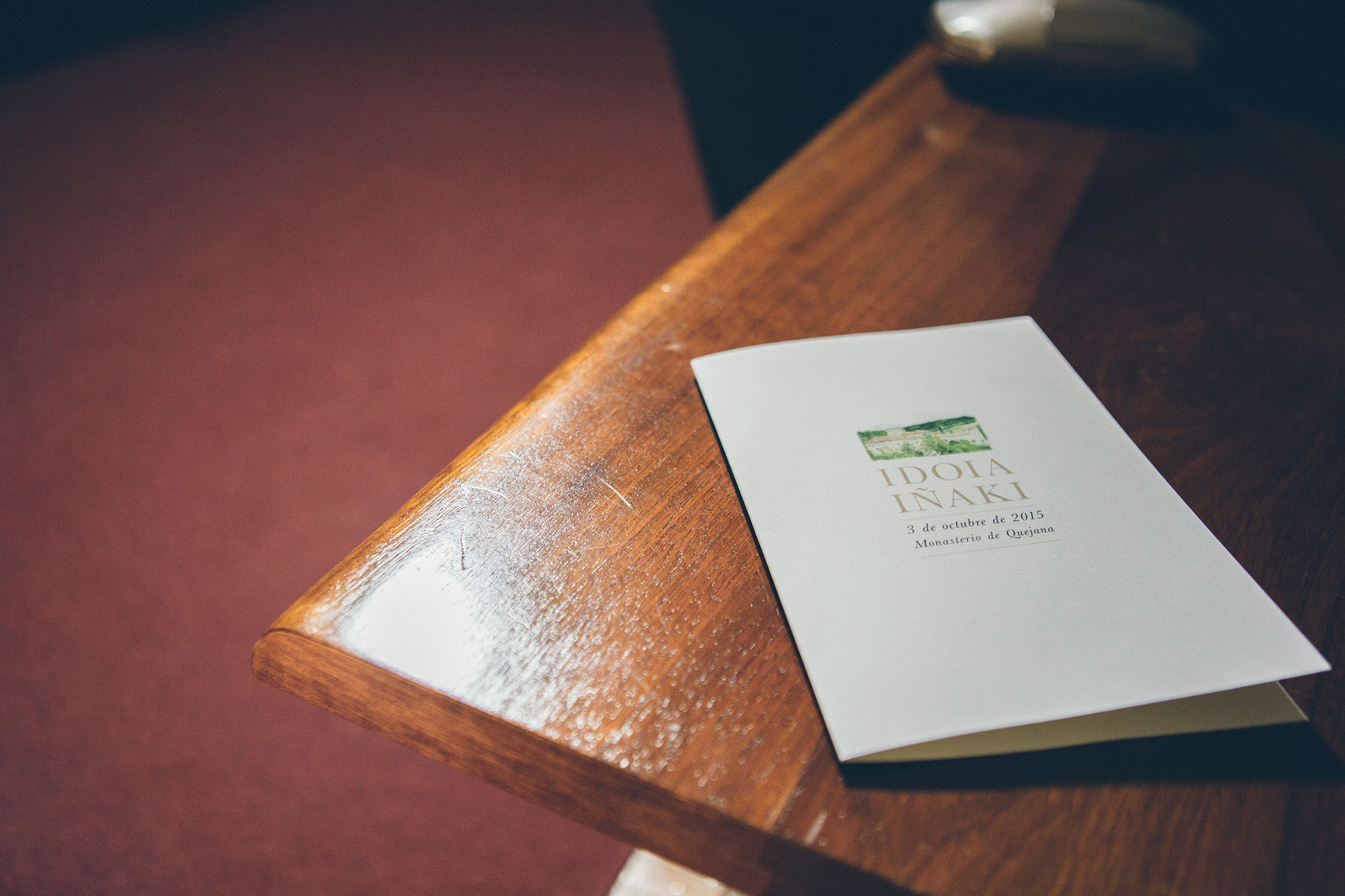 Misal, boda en quejana organizada por Conmemora wedding planner