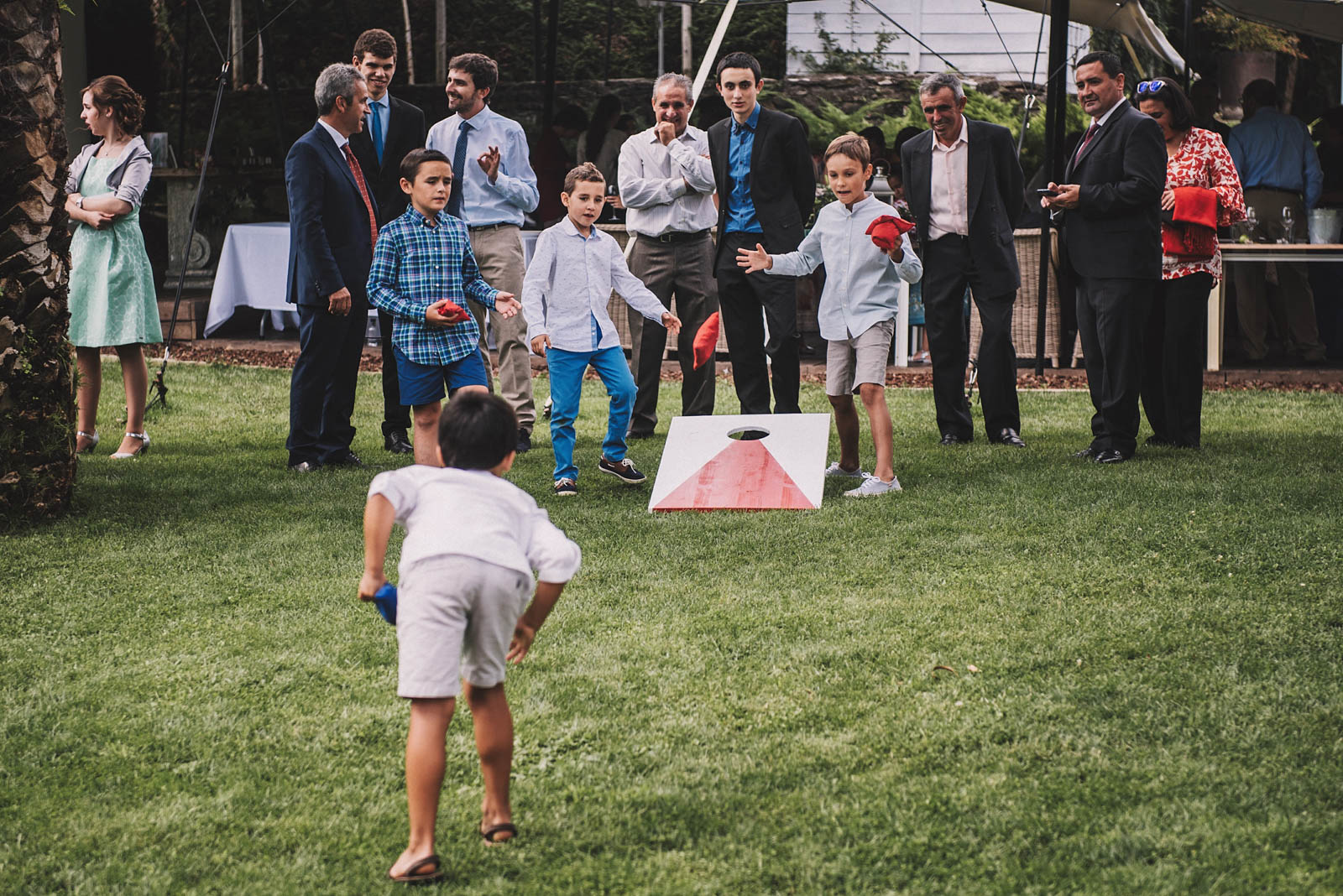Juegos originales para niños en las bodas, conmemora wedding planner