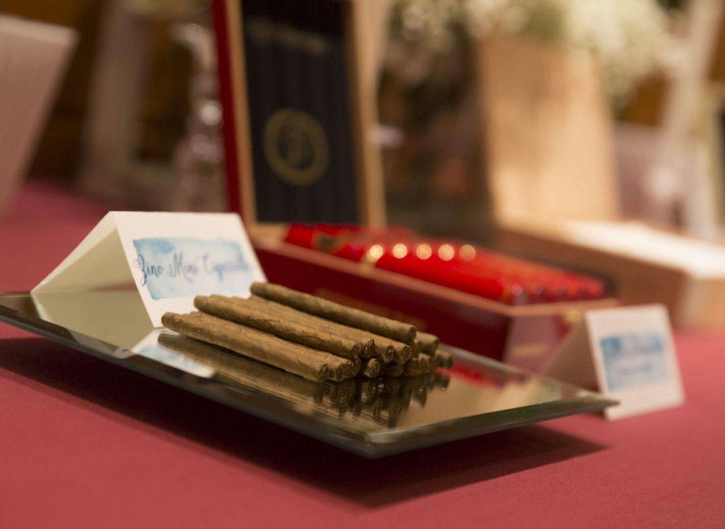 Tabac Corner, detalle, de Conmemöra Wedding Planner