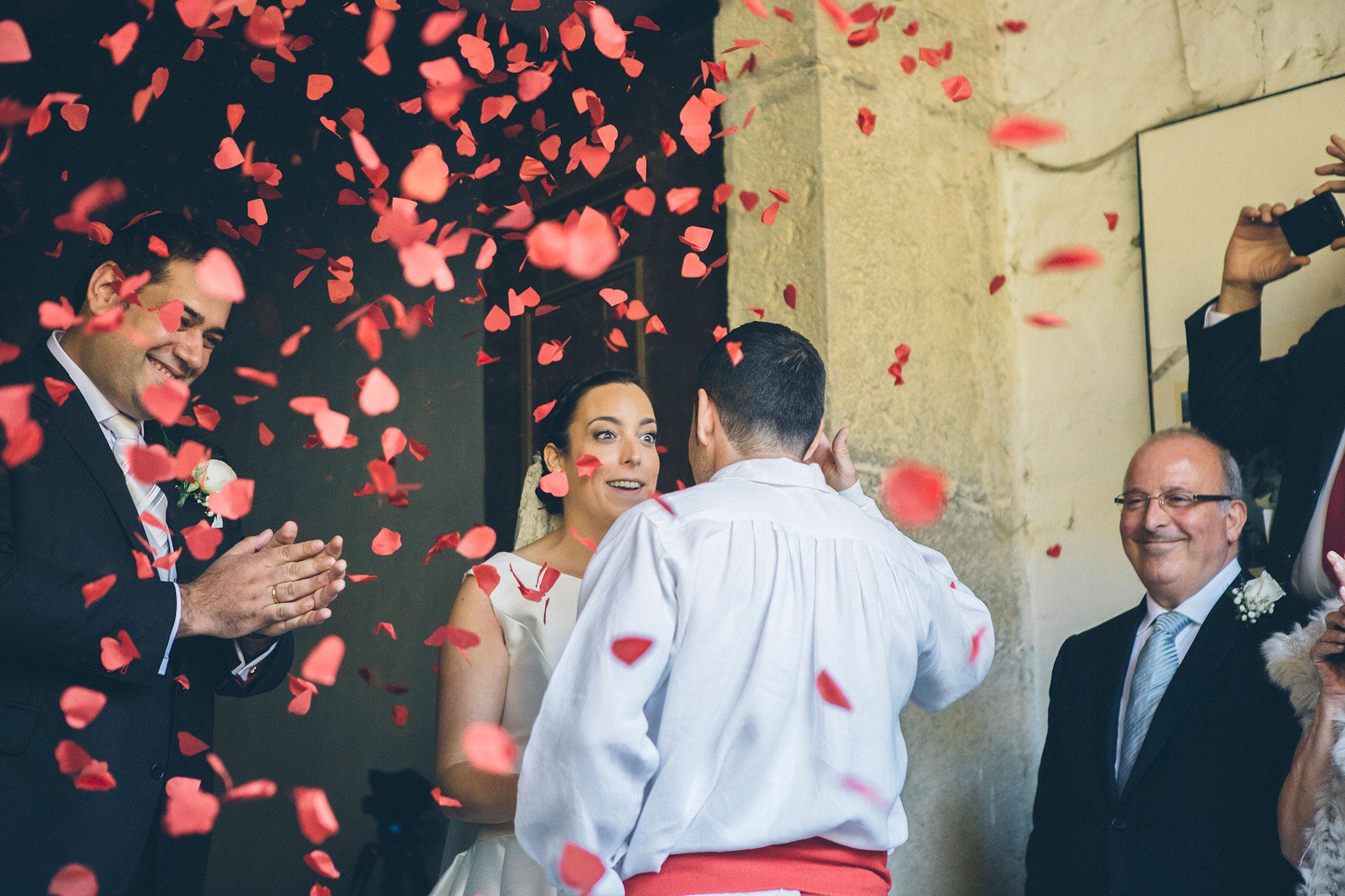 aurresku, boda en quejana organizada por Conmemora wedding planner