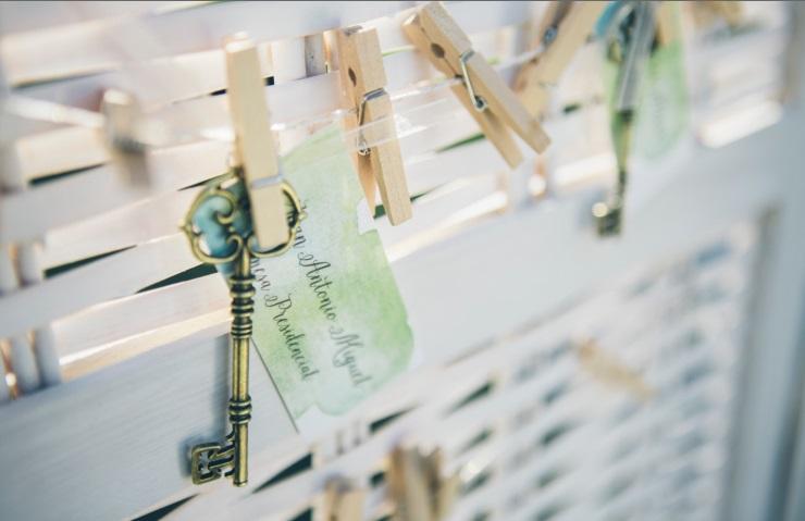 seating arcos de quejana realizado con llaves por conmemora wedding planner