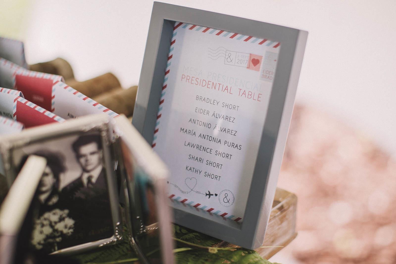 Rincón para el recuerdo, decoración de bodas, Conmemora wedding planner