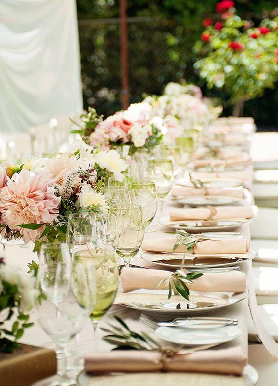 tendencias en bodas, comedor