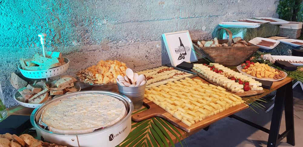 tendencias en bodas, las estaciones y show cooking