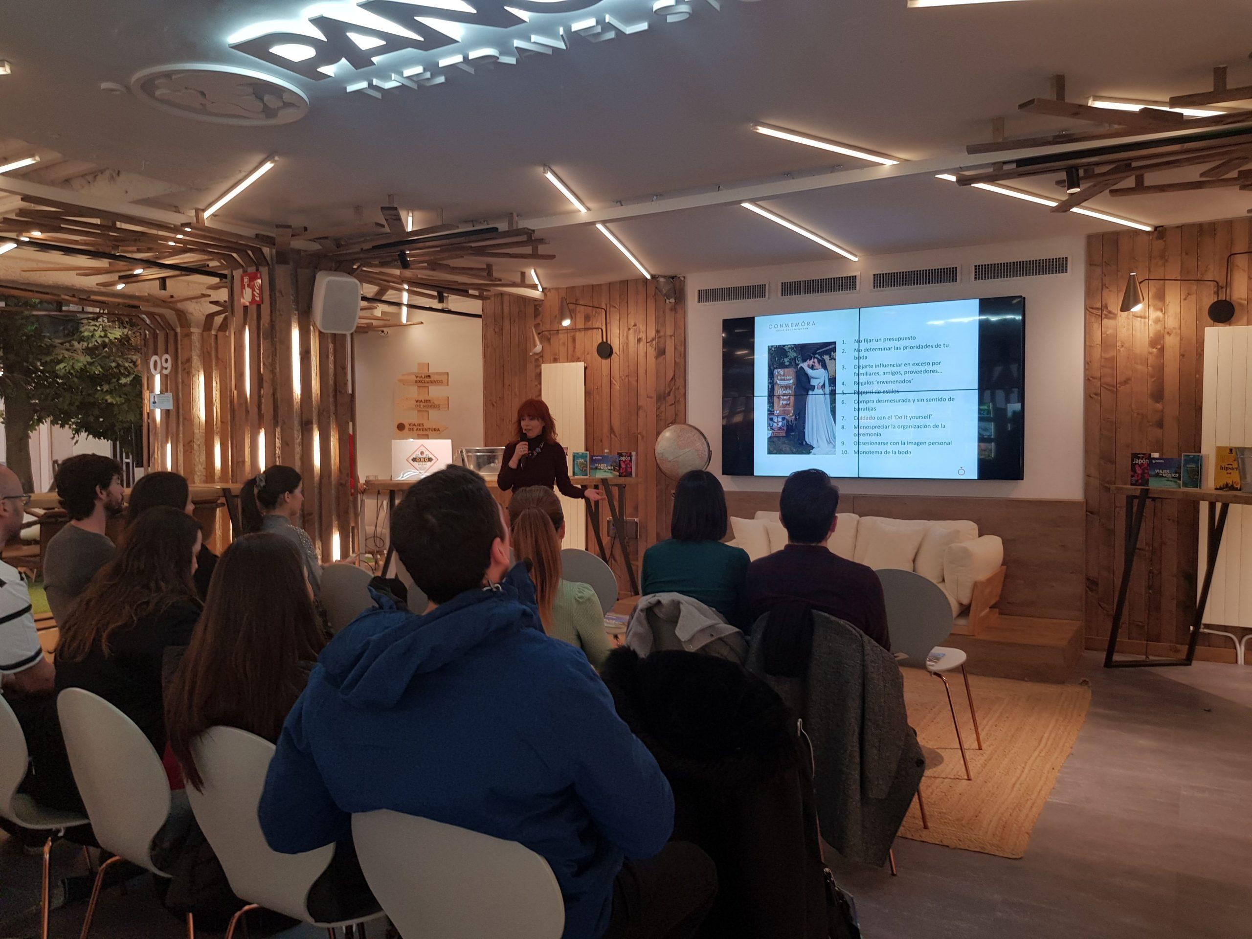 taller, workshop cómo organizar tu boda en Pangea